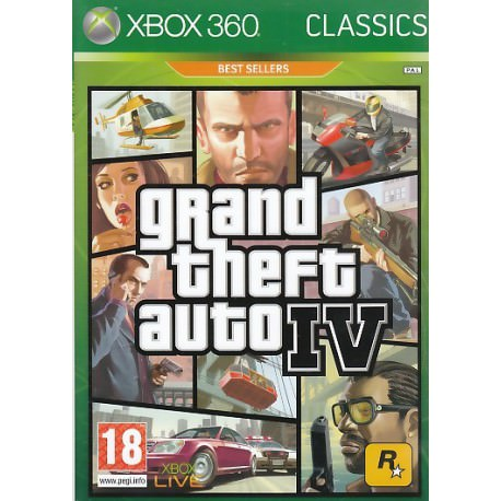 Grand Theft Auto IV (Xbox 360) Classics