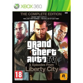 Grand Theft Auto IV The Complete Edition (Xbox 360)