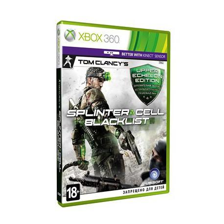 Tom Clancy's Splinter Cell Blacklist. Upper Echelon Edition (Xbox 360)