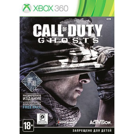 Call of Duty. Ghosts. Free Fall Edition (Xbox 360)