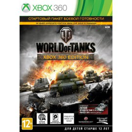 World of Tanks + 30 day Xbox Live (Xbox 360)