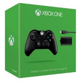 Беспроводной геймпад (джойстик) Xbox One + аккумулятор (W2V-00007)