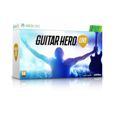Guitar Hero Live Bundle. Гитара + игра (Xbox 360)