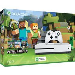 Xbox One S 500 ГБ + Minecraft (ZQ9-00048)