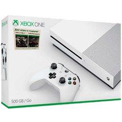 Xbox One S 500 ГБ + GEARS OF WAR 4 + Forza 5 GOTY