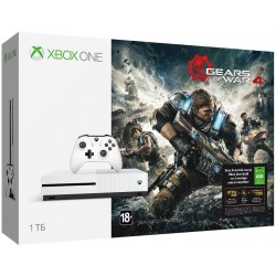 Xbox One S 1 ТБ + GEARS OF WAR 4 + Xbox LIVE 3 месяца