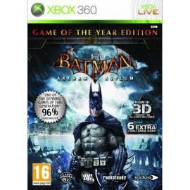 Batman: Arkham Asylum Game of The Year Edition (Xbox 360)